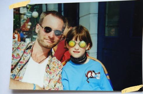 Henrik og Tine i London i 1997