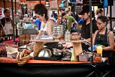 Greenwich Market Food Stall