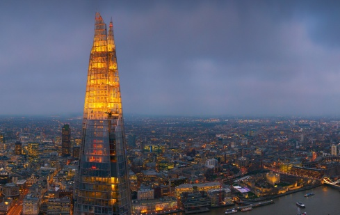 the shard udsigt