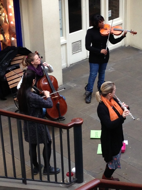 Dejlig Musik i Covent Garden...
