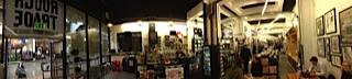 Panoramafoto af Rough Trade East (Brick Lane).Klik på billedet for at gøre det større.