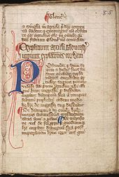Magna Carta i en udgave fra det 14. århundrede.