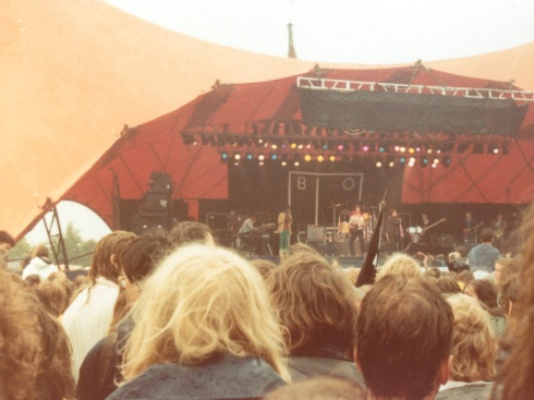 Ian Dury and the Blockheads på Roskilde Festival 26.6.1981
