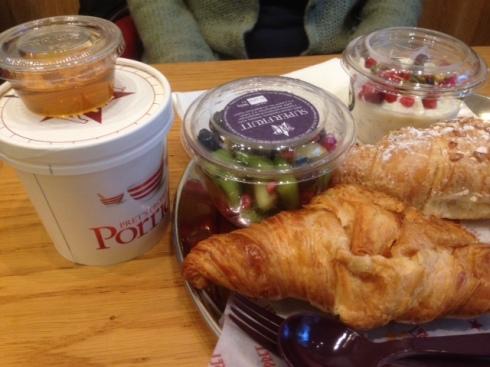 Morgenmad på Pret amanger