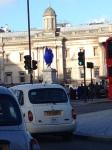 Den blå Hane på Trafalgar